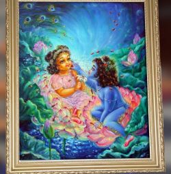 Picture of Radha and Krishna