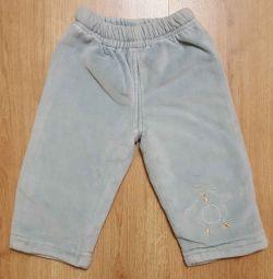 брюки утепленные 74-80