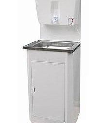 Wash-to 17l Summer white, stainless steel washing, heating