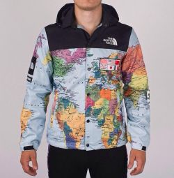 Windbreaker North Face x Supreme (sizes 46-52)