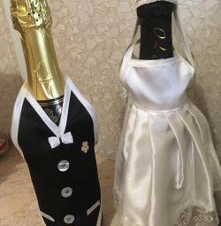 Wedding accessory for bottles.