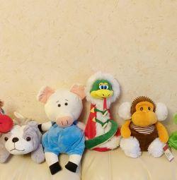 Іграшки на блискавки, відділення д / зберігання