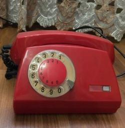 Disk stationary telephone