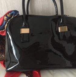 Lacquered bag