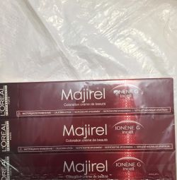 Paint for hair Mozharel France tone 7.1 a single package