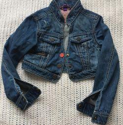 Mexx denim ceket kız bolero r. 116