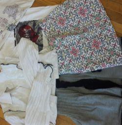 Tricouri, bluze, fuste
