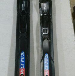 Ski bind (for skate)
