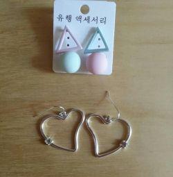 Σκουλαρίκια (2 ζεύγη)