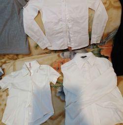 134 / 146cm σχολικές μπλούζες