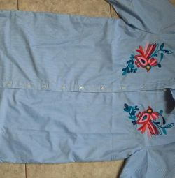 Dress-shirt with Embroidery