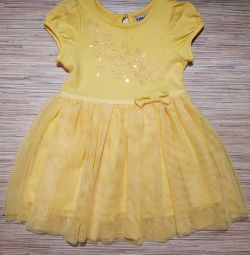 Dress elegant at the age of 9-12 months.