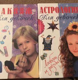 Kızlar için makyaj ve astroloji 2 kitap