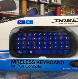Keyboard for PS4
