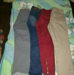Джинся и блузки