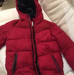 Kışlık ceket Zara çift dolgu polyester üzerine