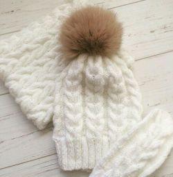 Καπέλο, απογευματινά και γάντια