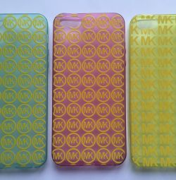 🌹 Νέα μαξιλαράκια σιλικόνης για iPhone 5 / 5S, νέα
