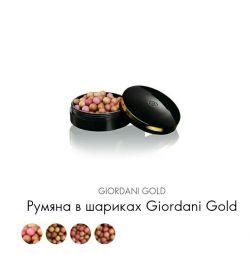 Blush σε μπάλες Giordani Gold