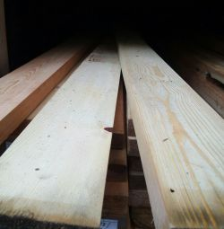 Dry and planed board 30 × 105 × 3000 Variety АВС pine