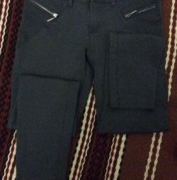 Fashionable trousers - stretch teenage