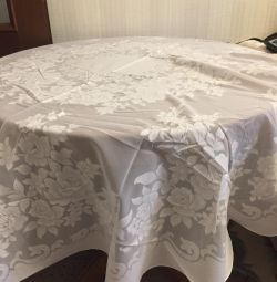 The tablecloth is new