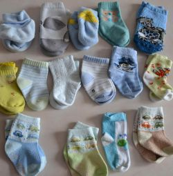Носки для новорожденного 15 шт