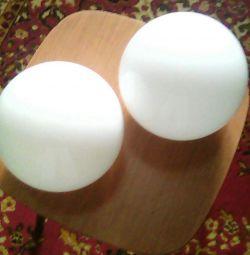 Плафоны шарики для люстры , бра.