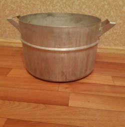 Pan aluminum USSR (20 l)