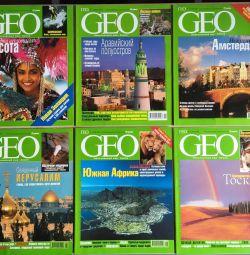 Журнал GEO 2001 рік