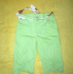 Breeches for a girl new 6-8 years