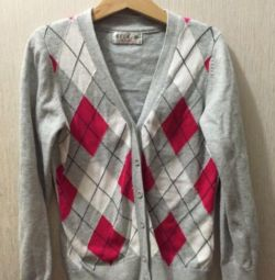 Button-up jacket, cardigan