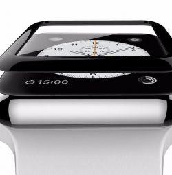 Защитное стекло 3D для Apple Watch 42 mm