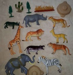 Animal Figures Safari Game Set