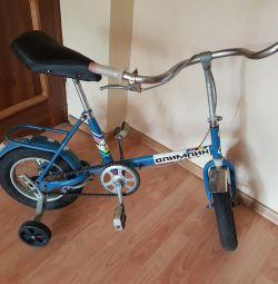 Kid's bicycle.