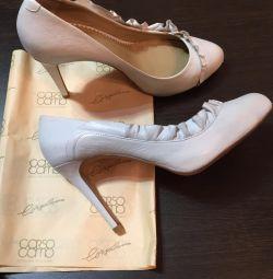 Pantofi albi Corsocomo 37,5
