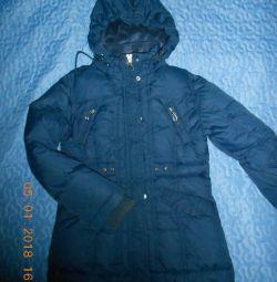 Down jacket Sela per girl on 120 ~ 130 cm tall.
