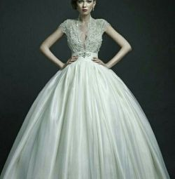 Свадебное платье атласное Ersa Atelier