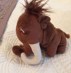 Soft toy from the Ice Age new