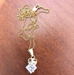 Pendant on a chain of delivery for free