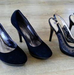 Două perechi de pantofi 40
