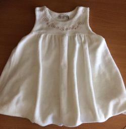 Φόρεμα το μέγεθος teplenky 80