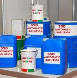 SSD SOLUTION CHEMICALS Παράδοση σε σκόνη ενεργοποίησης
