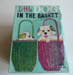 Jucărie câine mic jucărie în coș