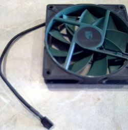 Fan for the computer. Exchange