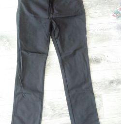 Pantaloni negri 33 mărime