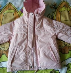 Winter new children's jacket, height 116 cm