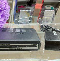 Коммутатор (свитч) 2 модели D-Link и Trendnet