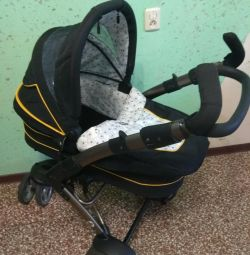 Stroller + slides for swimming and a round neck HB