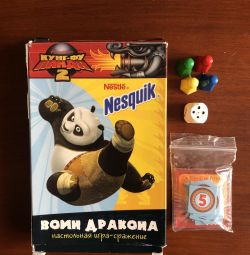 Board Battle Game Nesquik Dragon Warrior